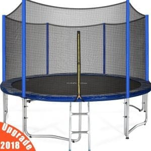 Zupapa Approved Trampoline with Enclosure Net