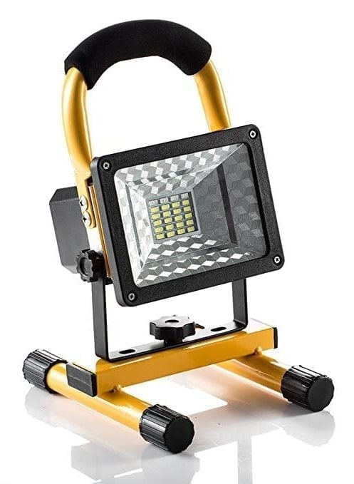 [15W 24LED] Spotlights Work Lights Outdoor Camping Lights (With USB Ports to charge Mobile Devices and Special SOS Modes)