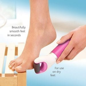 Amopé Pedi Perfect Callus Remover with Extra Coarse Roller