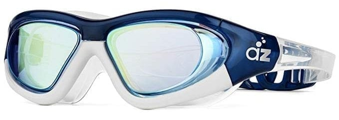 Aquazone swimming glasses with a very wide steel frame