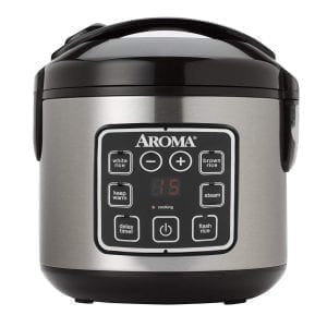 Aroma Housewares ARC-914SBD 8-Cup (Cooked) Digital Cool-Touch Rice Aroma Housewares ARC-914SBD 8-Cup (Cooked) Digital Cool-Touch Rice