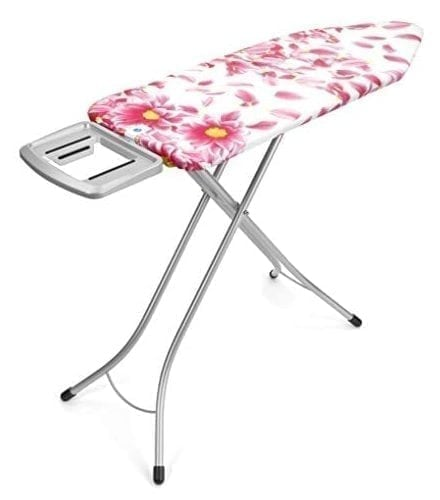Brabantia Ironing Board with Solid Steam Rest, Size C, Wide - Pink Santini