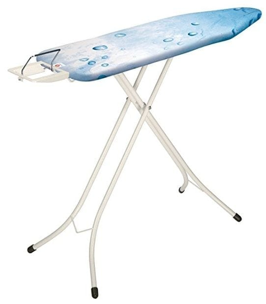 Brabantia Ironing Board with Steam Iron Rest, Size B, Standard - Ice Water Cover
