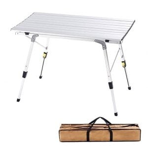CampLand Aluminum Folding Table