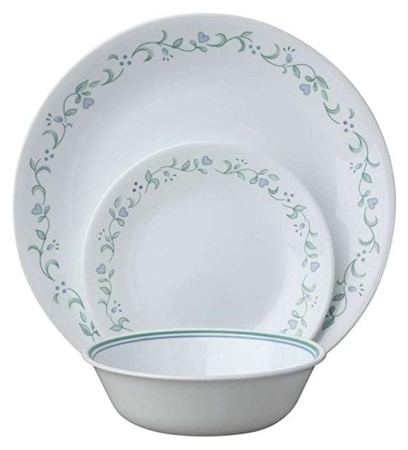 Corelle Livingware 18-Piece Dinnerware Set, Country Cottage