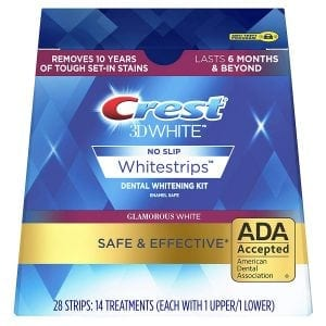 Sheer White! Teeth Whitening Strips (Double Pack)