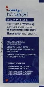 Crest Whitestrips Supreme Professional Whitening