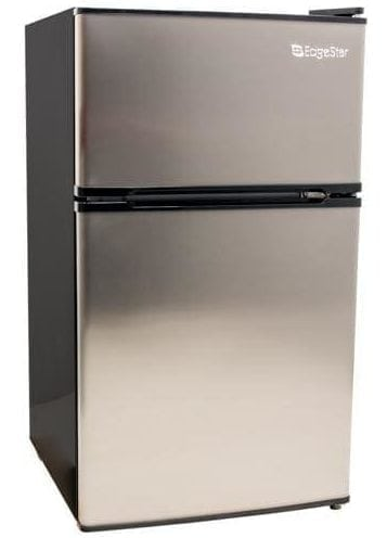 EdgeStar CRF321SS 3.1 Cu. Ft. Compact Fridge/Freezer