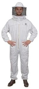 Humble Bee 410-XXL Polycotton Beekeeping Suit with Round Veil