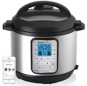 Instant Pot Smart Bluetooth 6 Qt 7-in-1 Multi-Use Programmable Pressure Cooker
