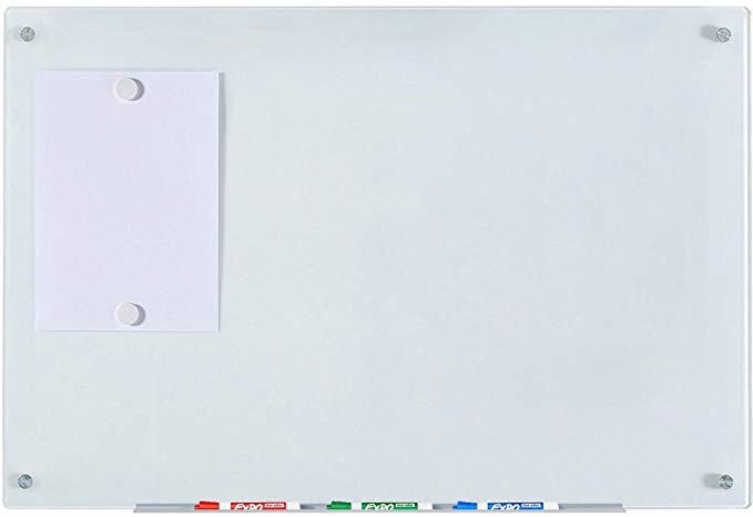 Audio-Visual Direct Magnetic Glass Dry-Erase Board