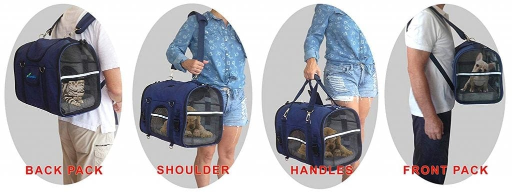 Natuvalle 6-in-1 Pet Carrier Backpack
