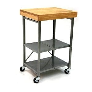 Origami Foldable Kitchen Island Cart
