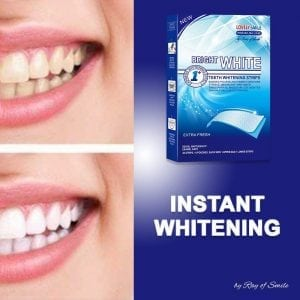 Professional Teeth Whitening Strips with Non-Slip Tech