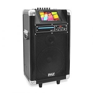 Pyle Portable Pa Speaker Karaoke Machine