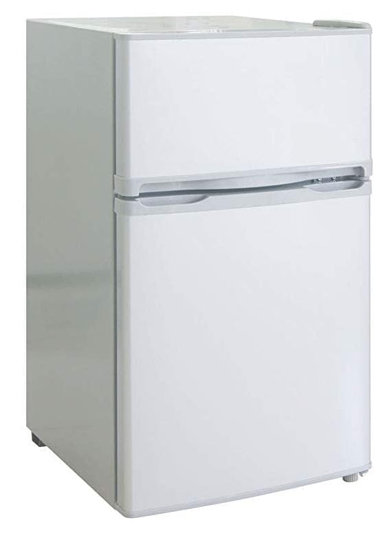 RCA-Igloo 2 Door Fridge and Freezer, 3.2 Cubic Feet