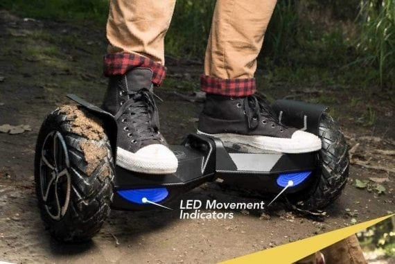 Self balancing scooter/hoverboard