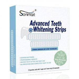 Sonimart Advanced Teeth Whitening Strips Kit