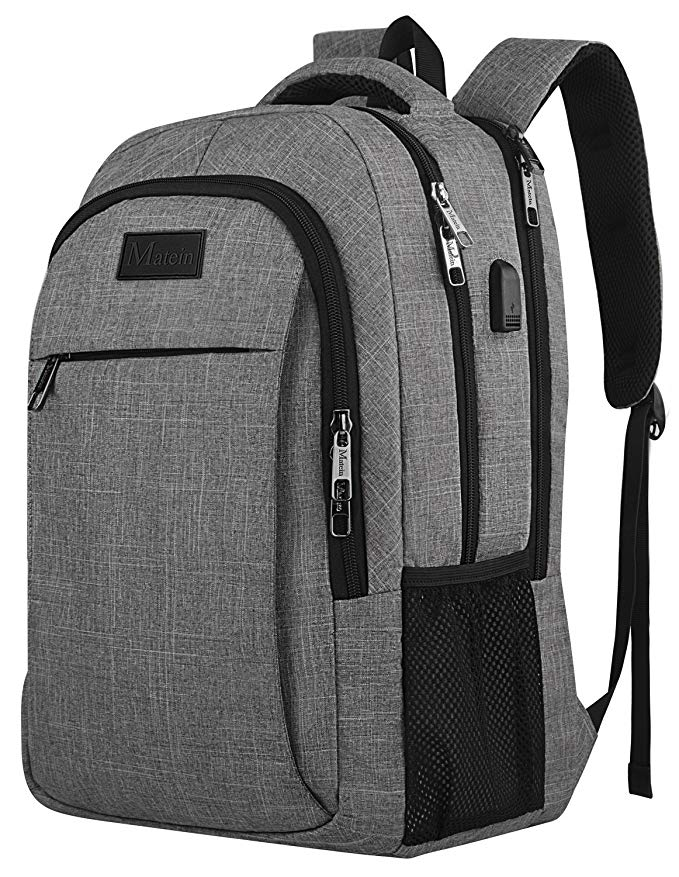 MATEIN Water Resistant College School Computer Bag