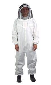 VIVO New Professional XL Cotton Full Body Beekeeping Bee Keeping Suit