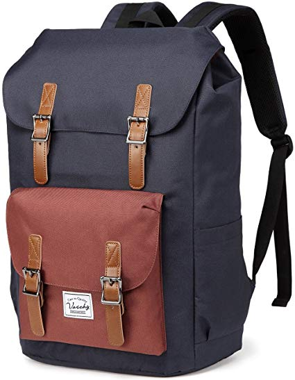 Vaschy Casual Water-resistant school backpack