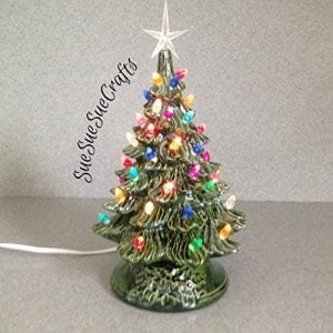 Vintage Style Ceramic Christmas Tree