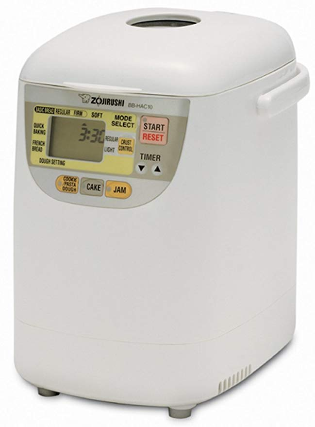 Zojirushi BB-HAC10 1-Pound-Loaf Programmable Mini Breadmaker