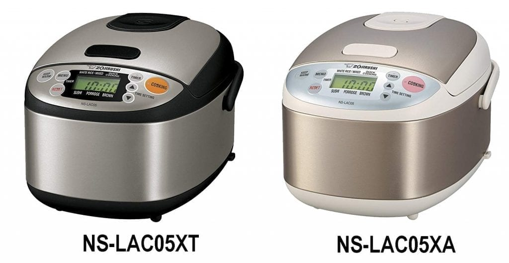 Zojirushi NS-LAC05XT Micom Rice Cooker and Warmer