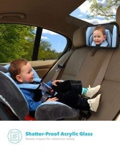 Baby & Mom Back Seat Baby Mirror