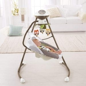 Fisher-Price My Little Snugabear Cradle 'N Swing