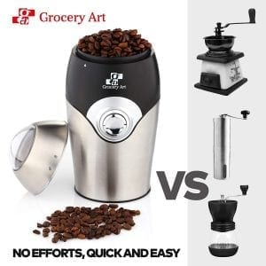 Grocery Art Electric Coffee Grinder Blade Mill