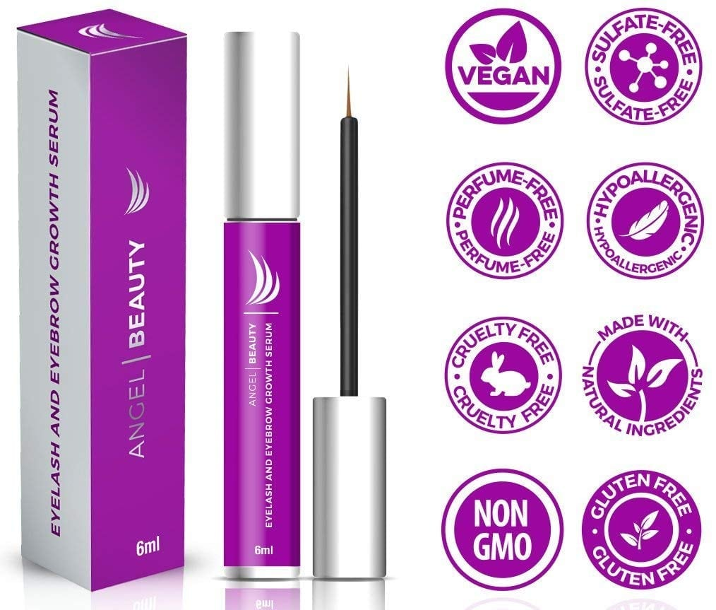 Angel Beauty Eyelash Growth Serum
