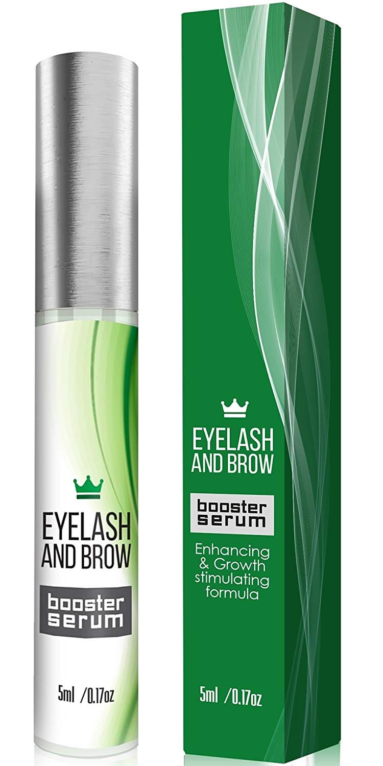 Natural Eyelash Growth Serum - Lash Booster & Eyebrow Enhancing Serum