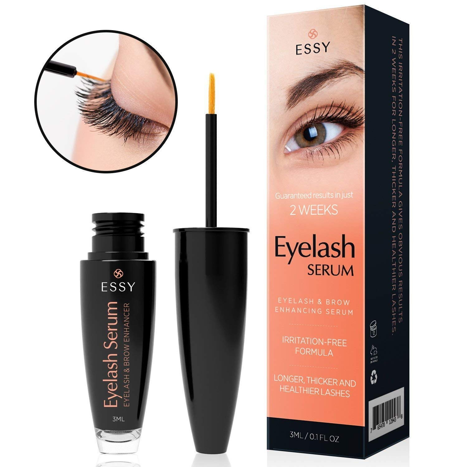 Essy Eyelash Growth Serum for Lash and Brow