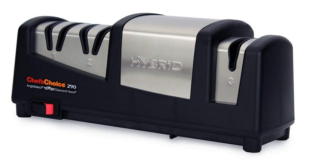 Chef'sChoice 290 AngleSelect Hybrid Diamond Hone Knife Sharpener