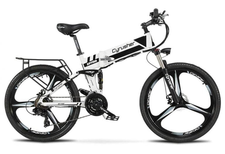 Cyrusher XF700 26 inch Folding Electric Bike