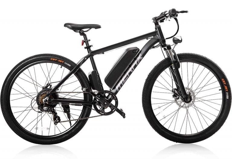 "Merax 26"" Aluminum 7 Speed Shimano E-Bike"