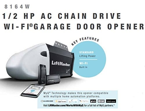 Liftmaster 8164W contractor series garage door opener