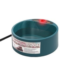Namsan heated pet bowl, outdoor heated bowl