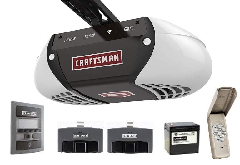 Craftsman 1-1/4 HP smart garage door opener