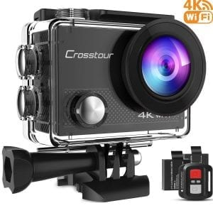 Crosstour CT9000 4K Underwater Action Camera
