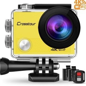 Crosstour U-CT9000-Y-GM 1080P Underwater Action Camera