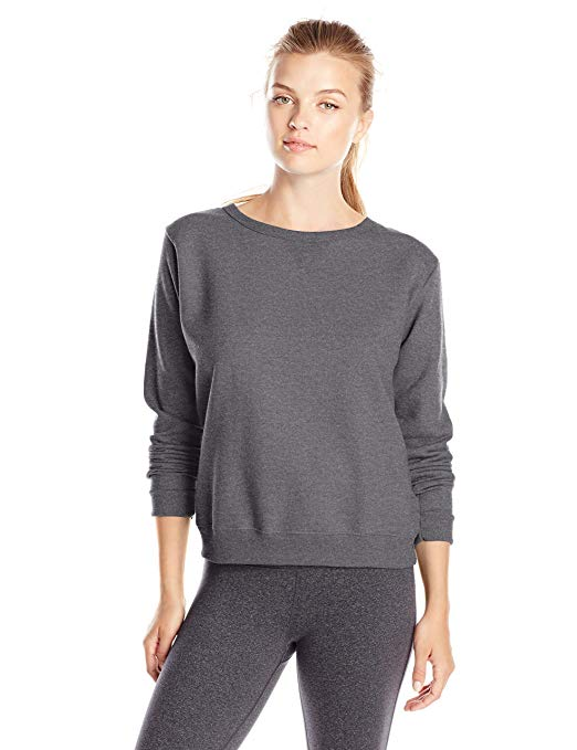 Hanes Women's V-Notch Fleece Sweatshirt