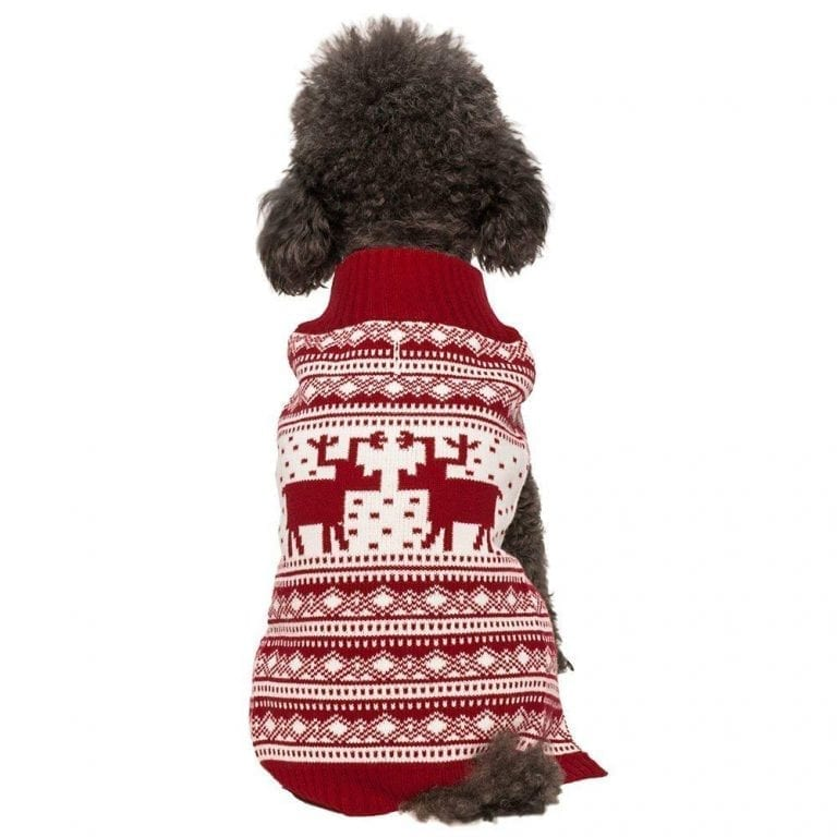 Blueberry Pet Vintage Festive Dog Sweater