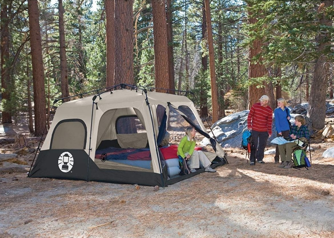 Top 10 Best Coleman Instant Tents for Camping