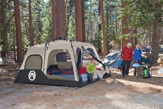 Coleman Instant Tent for camping
