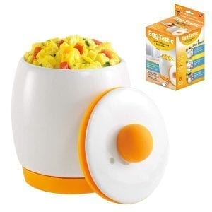 Allstar Innovations Egg-Tastic Ceramic Microwave Egg Cooker