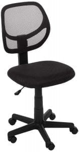 AmazonBasics Low-Back Mesh Office Chair