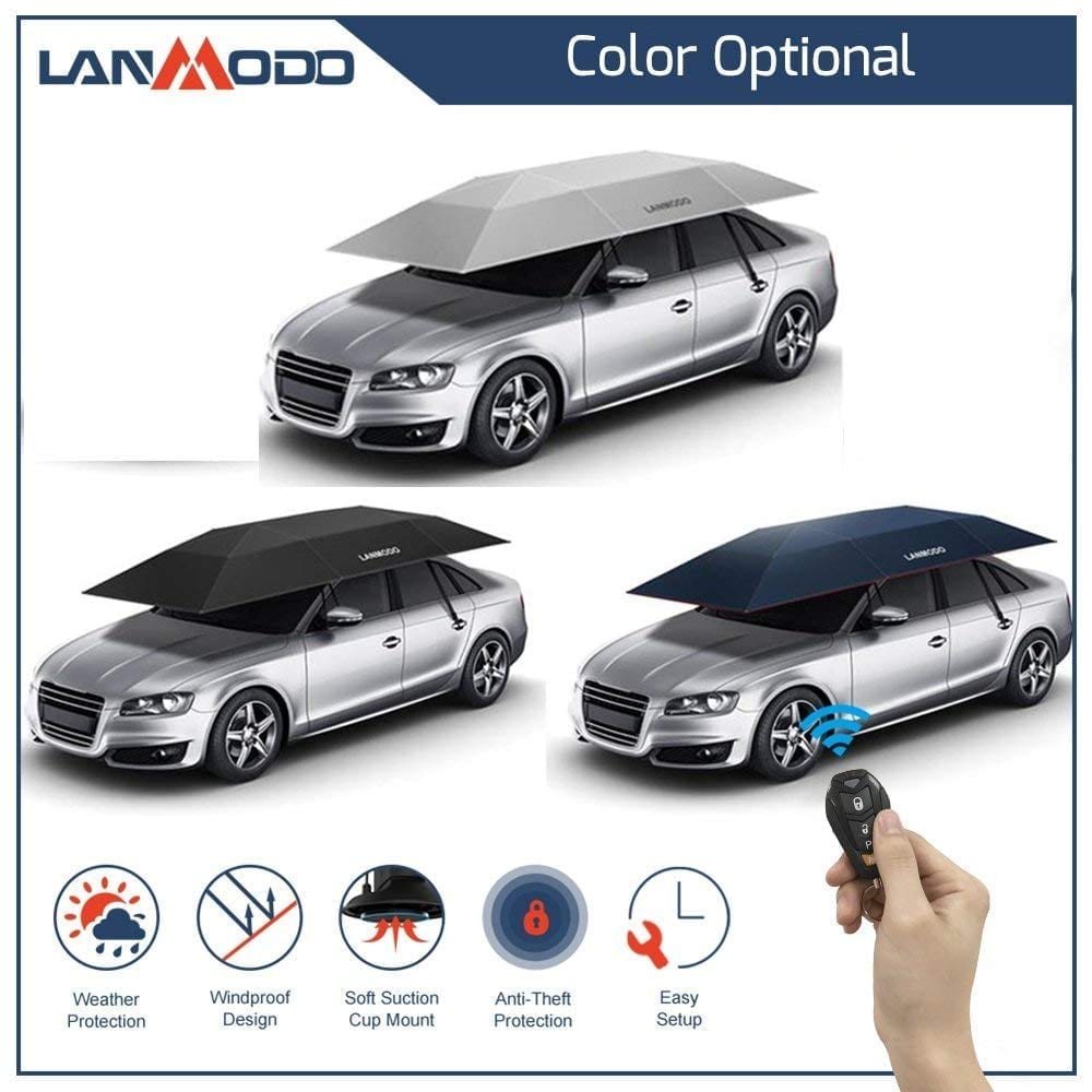 Ioffer super Waterproof Lanmodo Fully Automatic Car Umbrella