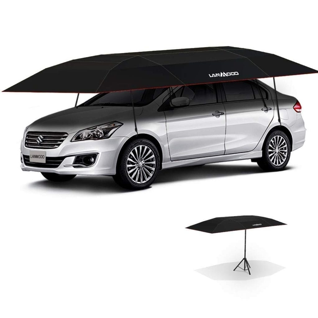 LANMODO Pro Four-season Wireless Automatic Car Tent Cover,